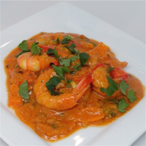 Prawn in Coconut Sauce( Kamba  Wa Nazi)