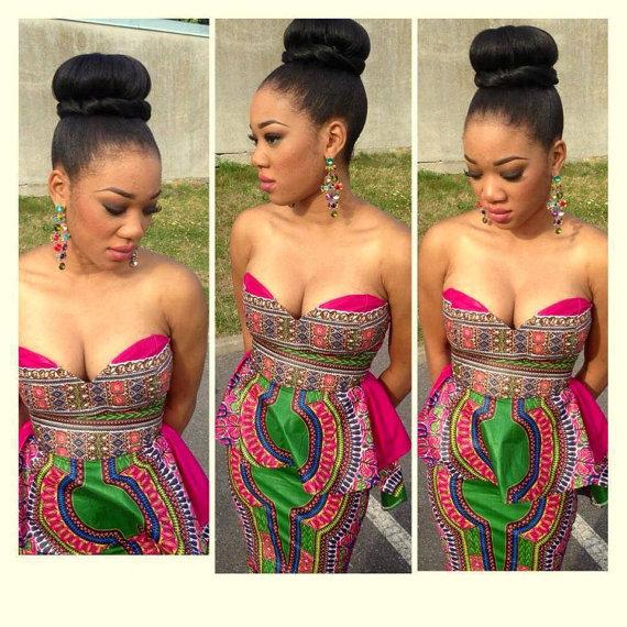 African high fashion wedding dress newhairstylesformen2014 com