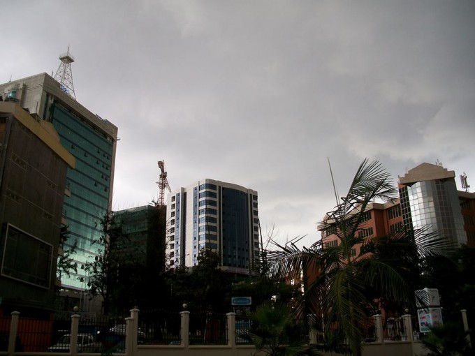 Sasha Lee, in Kigali