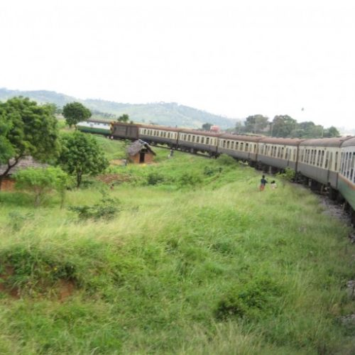 First nairobi- mombasa train