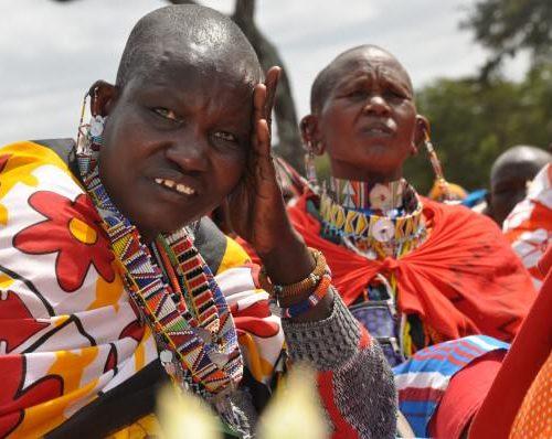 FGM-Maasai women during the meeting.