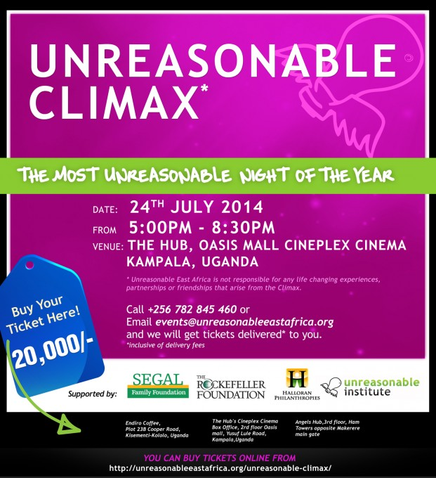 Unreasonable Climax: Most Unreasonable Night Of The Year