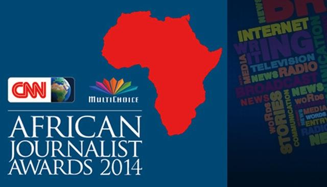 CNN African Journalist of the  year award 2014