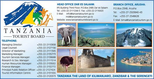 Tanzania Ministry Of Tourism Seeks Managing Director