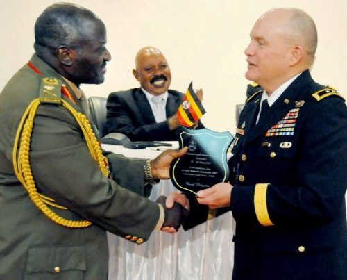 Uganda's General Wamala Inducted Into US Army War College Hall of Fame