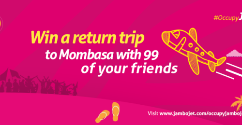 #OccupyJamboJet Promotes All Expenses Paid Trip To Mombasa