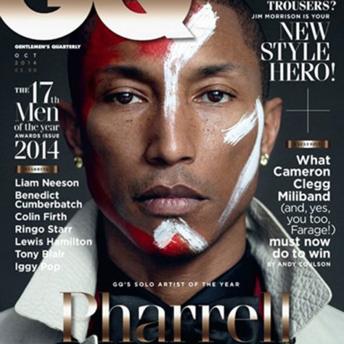 Pharrell Williams Goes Maasai For GQ Cover Shoot