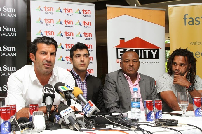Real Madrid All Stars Visit To Tanzania Chicamod