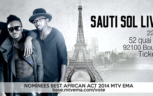 Sauti Sol To Perform Live In Paris