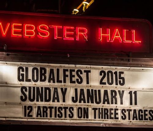 Sign of the Globalfest 2015