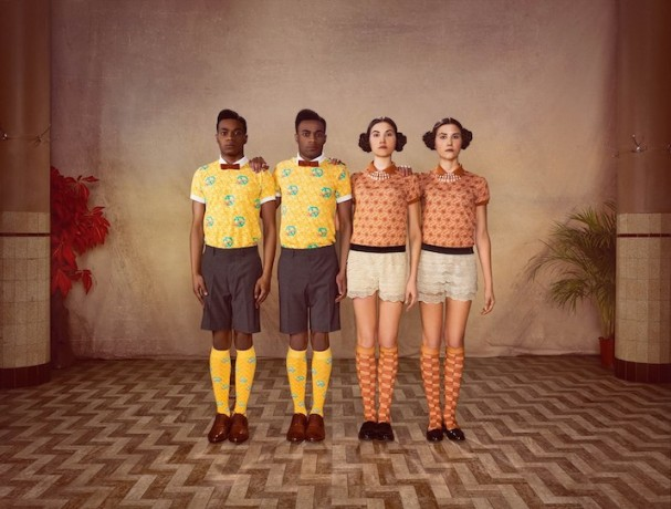Mosaert: Cardigans and Socks by Stromae