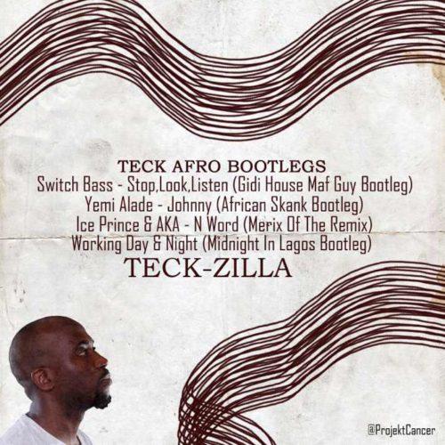 Tech Zilla poster art