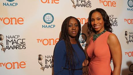 NAACP Awards with Peres Owino