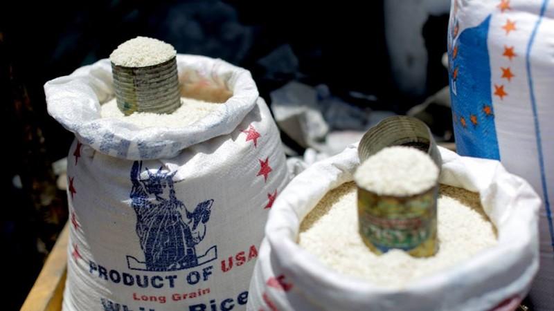 Subsidized U.S rice
