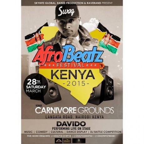 davido to perform at afro-beats-festival